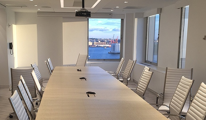 Corporate board room