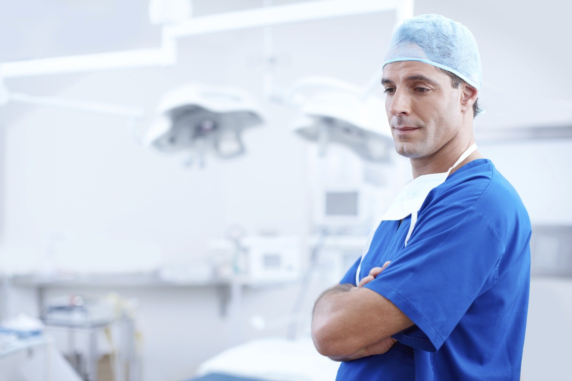 Doctor in surgery Ward